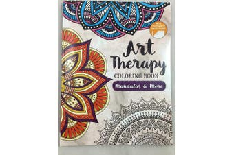 Art Therapy Colouring Book Mandalay & More