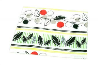 Creeative Home Tempered Glass Cutting/ Serving Board