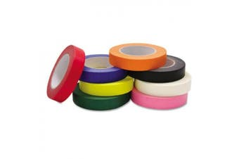 Chenille Kraft Company CK-4860 Colored Masking Tape 8 Roll Assortd 1X60 Yrds
