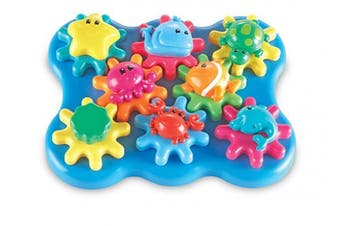 (Ocean) - Learning Resources Ocean Wonders Build & Spin, Gears Toy & Building Set, 17 Pieces, .