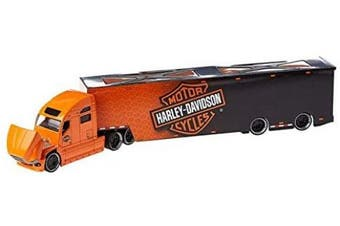 Maisto M11516 1:64 Scale Custom Harley Davidson Hauler In Packed With Fine Details Die-Cast Model