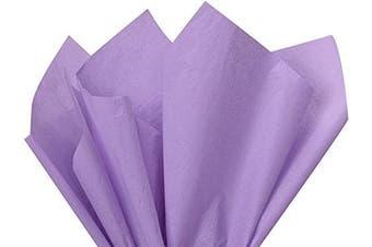 (Soft Lavender) - Soft Lavender Colour Tissue Paper 15 x 20 100sheets Premium Tissue Paper A1 bakery supplies