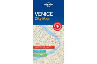 Lonely Planet Venice City Map (Map)