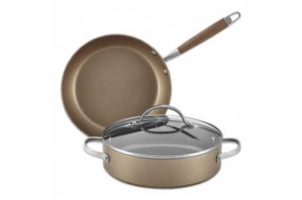 Anolon Advanced Umber 3-Piece Cookware Set