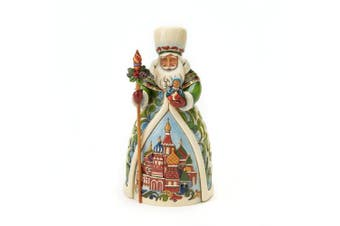 (Russian Santa) - Jim Shore Heartwood Creek from Enesco Russian Santa Figurine 18cm