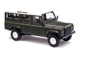 HO Scale Land Rover Defender green