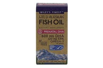 Wiley's Finest Pre Natal DHA - 720mg EPA & DHA - 60 caps