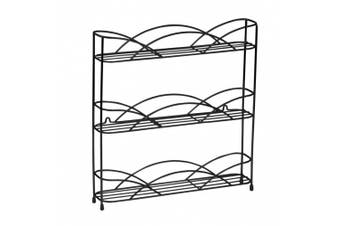 Kitchenista Free Standing Spice and Herb Rack, Universal to fit multiple sized jars