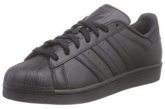 (11 UK, Core Black/Core Black/Core Black) - adidas Originals Superstar Foundation, Men's Trainers
