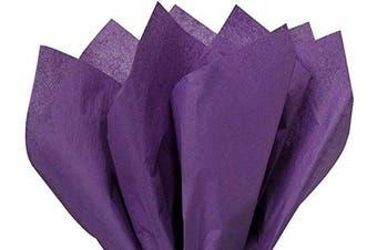 (Purple) - Gift Wrap Tissue Paper 15 X 20 - 100 Sheets (Purple)