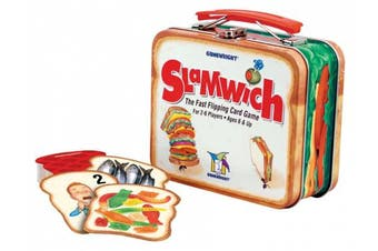 (1 Pack) - Gamewright Slamwich Collector's Edition Tin Game