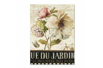(36cm  x 48cm ) - Trademark Fine Art Marche de Fleurs II Wall Decor by Lisa Audit, 36cm x 48cm