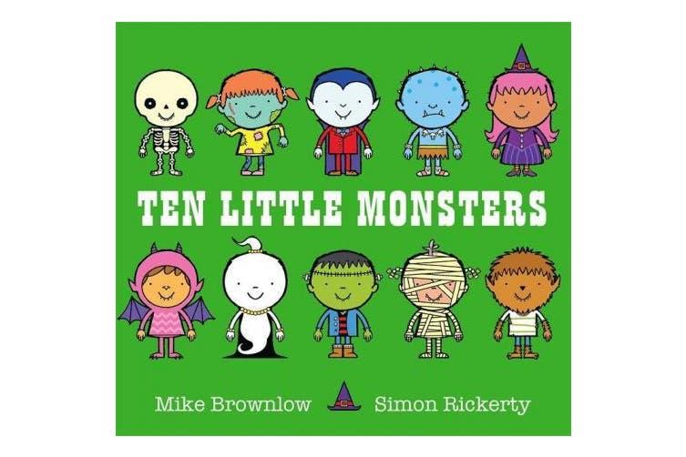 Ten Little Monsters (Ten Little)