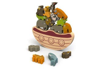 (Balance Boat Endangered Animals) - BeginAgain - Balance Boat Endangered Animals Game, Make Learning Fun and Help Spark Your Child's Imagination, Helps Promote Active Play and Develop Motor Skills (For Kids 3 and Up)