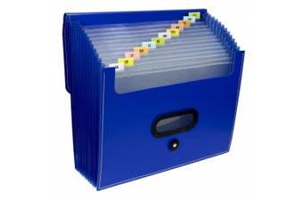 13-Pocket Ladder Expanding File