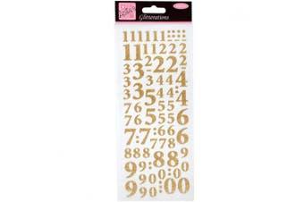 Anita's Glitterations Numbers