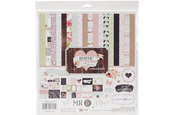Carta Bella Collection Kit 30cm x 30cm -Rustic Elegance
