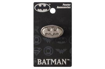 Batman Logo 2.5cm Pewter Lapel Pin