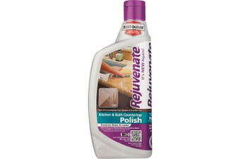 (470ml) - Rejuvenate Kitchen & Bathroom Countertop Polish – Brings Back Shine and Lustre to All Kitchen and Bathroom Countertops in One Easy Application – 470ml