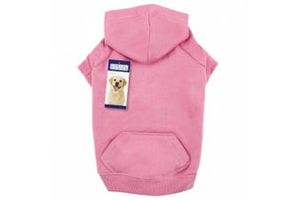 (XX-Large, Pink) - Casual Canine Basic Hoodie Dog Apparel ZA6015
