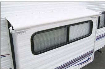 Carefree KY25SH White Slideout Cover Bracket and Hardware for Awnings