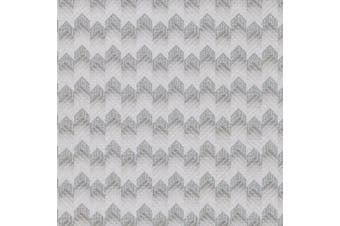 (silver) - Brewster 2603-20944 Maxwell Silver Fabric Texture Wallpaper