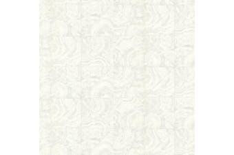 (cream) - Brewster HZN43104 Malachite Cream Stone Tile Wallpaper