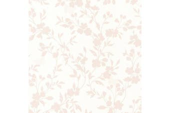 (rose) - Brewster 2532-20464 Layla Rose Floral Trail Silhouette Wallpaper