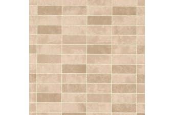 (sand) - Brewster 2532-20476 Hunter Sand Rectangle Tile Wallpaper