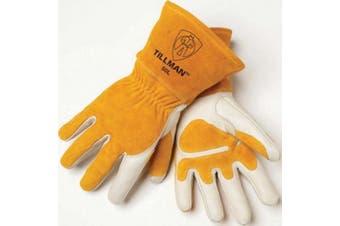 Top Grain / Split Cowhide MIG Welding Gloves - XL - Tillman - 50XL
