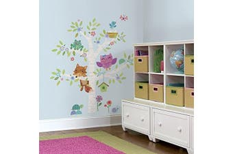 RoomMates Woodland Baby Birch Tree Peel and Stick Giant Wall Decals
