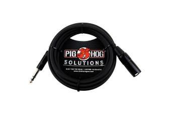 (3m) - Pig Hog PX-TMXM2 0.6cm TRS to XLR Balance Adaptor Cable, 3m