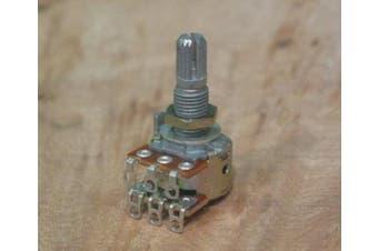 Dual 25K Blend/Balance Audio Taper Pot w/Centre Detent Allparts EP-4745-000
