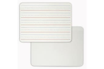 LAP BOARD 9 X 12 PLAIN LINED WHITE