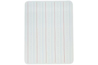 LAP BOARD 9 X 12 LINED WHITE