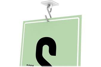 Deflect-o Plastic Sign Hangers - Plastic - Clear (def-20003)