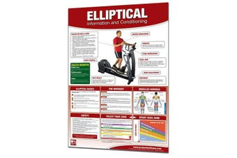 (Standard, Elliptical) - Productive Fitness Poster Series Elliptical Machine Conditioning Chart