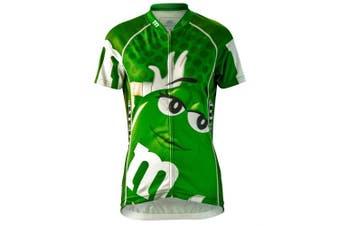 Brainstorm Gear 2015 Women's M & Ms Green Cycling Jersey - MMGR-W (Green - M)
