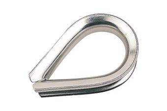 Sea Dog Heavy Duty Thimble, 1.6cm Wire Diameter, Stainless Steel