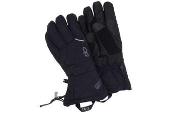 (Small, Black – Small) - Outdoor Research Southback Gloves