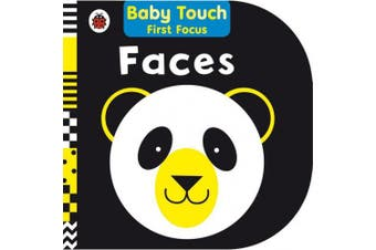 Faces: Baby Touch First Focus [Board book]