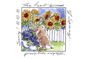 (firstbloomwindow) - Art Impressions Windows To The World Cling Stamp
