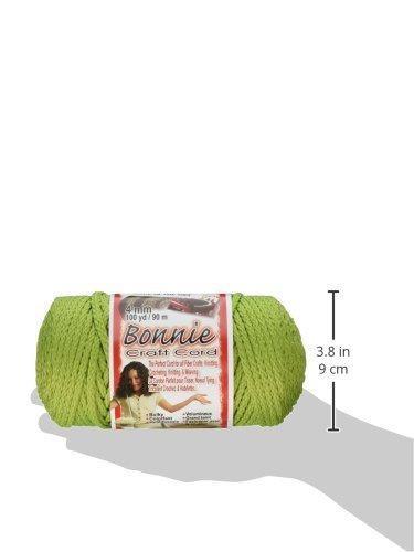 Lime 4mm X 100 yd Pepperell BB4100146 Bonnie Macrame Craft Cord