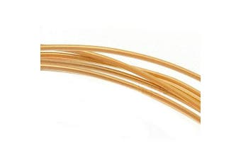 14K Gold Filled Wire 22 Gauge Round Half Hard 1.5m