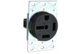 (Flush Mount, NEMA 15-50) - Pass & Seymour 5750 Straight Blade Receptacle 3 Pole, 50 Amp, 250 Volt, NEMA 15-50R