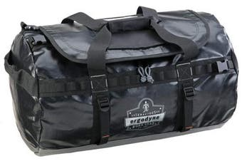 (Small) - Ergodyne Arsenal 5030S Small Tarpaulin Water Resistant Duffel Bag w/Removable Shoulder Straps