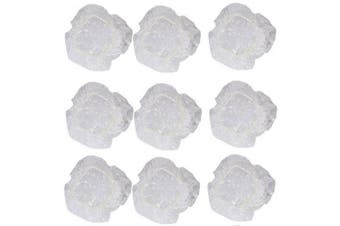 100pcs Clear Disposable Plastic Shower Ear Covers Bathing Hair Dye Ear Protector Cover