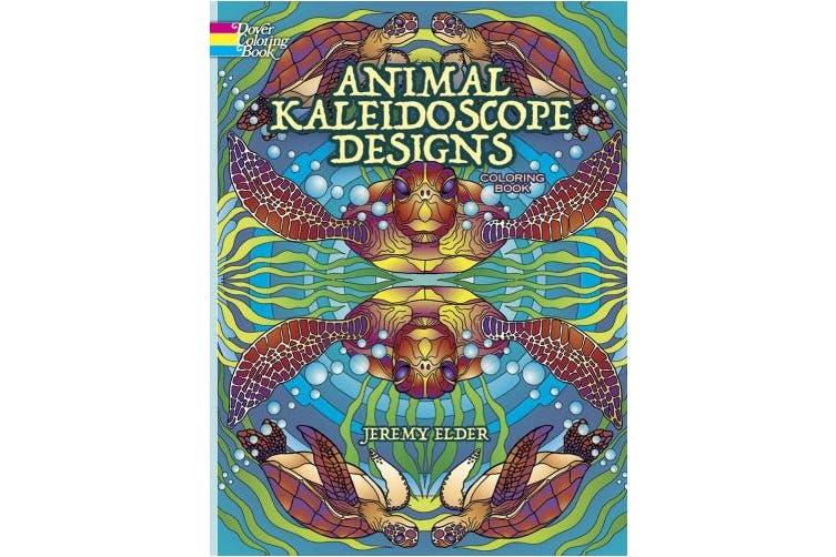 Dick Smith | Animal Kaleidoscope Designs Coloring Book ...