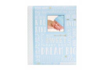 (Blue) - Lil' Peach Dream Big Wordplay Babybook, Blue