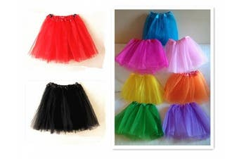 A Liittle Tree New LADIES Girls Women Tutu Skirts Dress Up Fancy Dress Party Hen Party (HOT PINK)